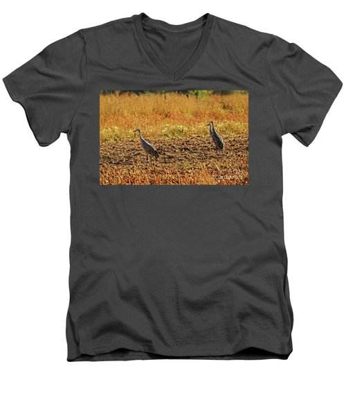Three Amigos Men's V-Neck T-Shirt by Robert Bales
