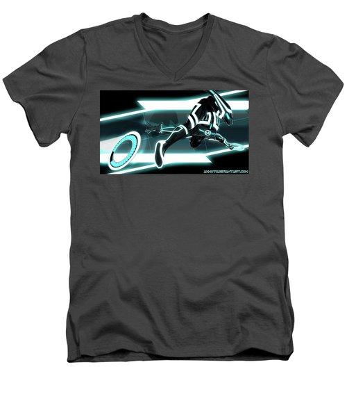 Tron Legacy Men's V-Neck T-Shirt
