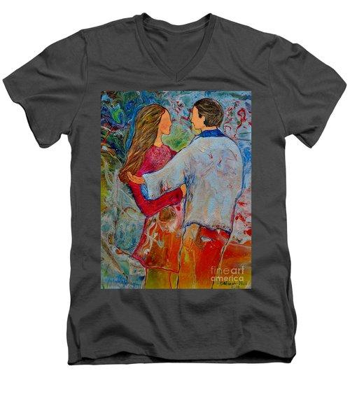 Trusting You Men's V-Neck T-Shirt