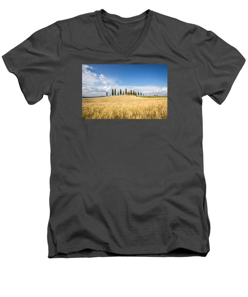 Tuscan Villa Men's V-Neck T-Shirt