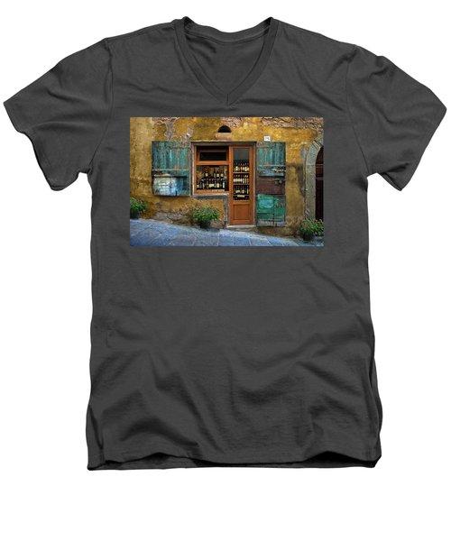 Tuscany Wine Shop 2 Men's V-Neck T-Shirt