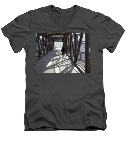 Universal Design Men's V-Neck T-Shirt