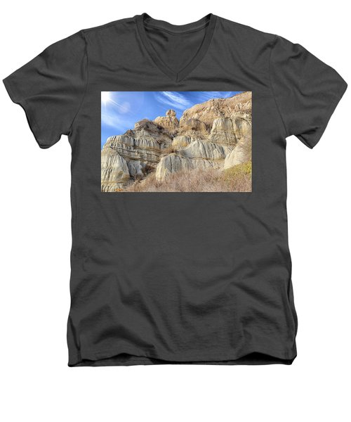 Unstable Cliffs Men's V-Neck T-Shirt