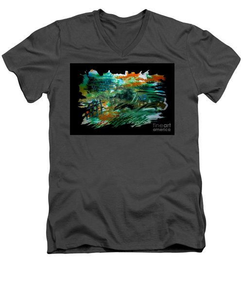 Untitled-104 Men's V-Neck T-Shirt