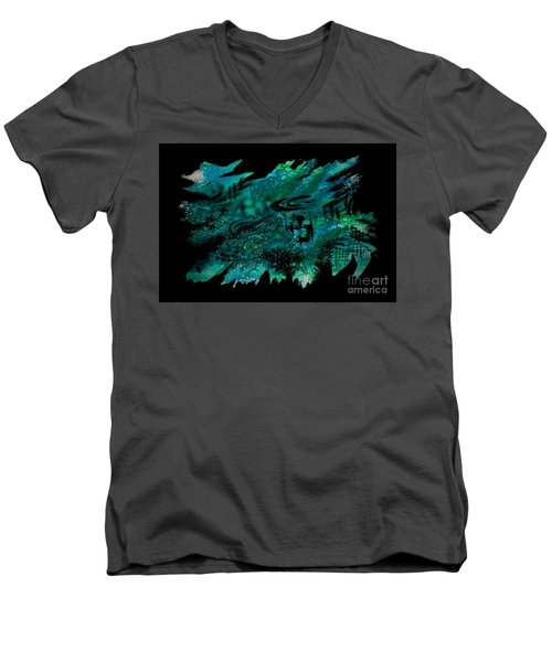 Untitled-129 Men's V-Neck T-Shirt