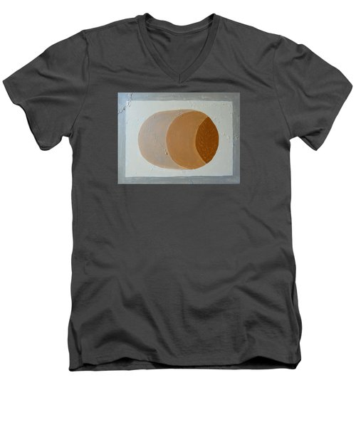 Untitled Men's V-Neck T-Shirt by Tamara Savchenko