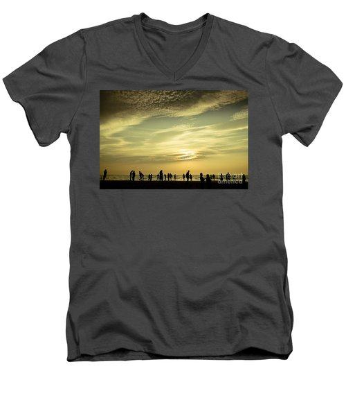 Vanilla Sky Men's V-Neck T-Shirt