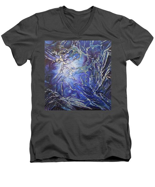 Venus Men's V-Neck T-Shirt by Angela Stout