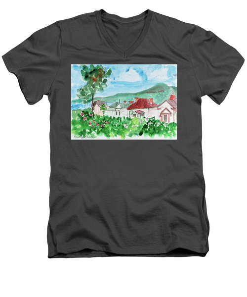 View From Battery Point Men's V-Neck T-Shirt