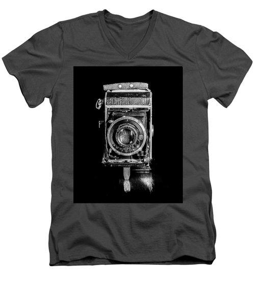 Vintage Camera Men's V-Neck T-Shirt