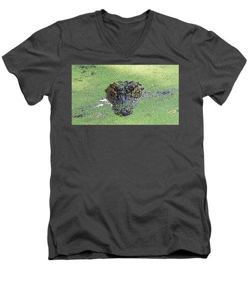 Watching You Men's V-Neck T-Shirt