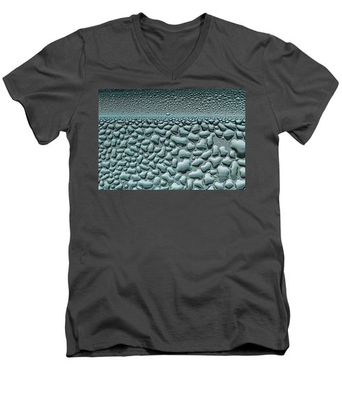 Water Drops Men's V-Neck T-Shirt