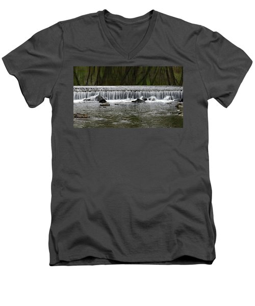 Waterfall 003 Men's V-Neck T-Shirt
