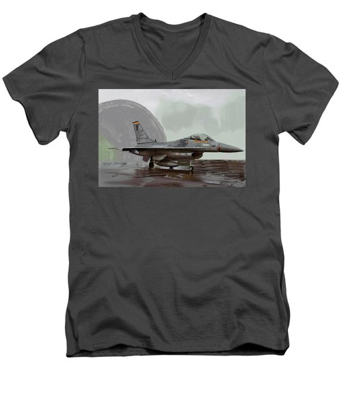 Weather Day 287 Men's V-Neck T-Shirt