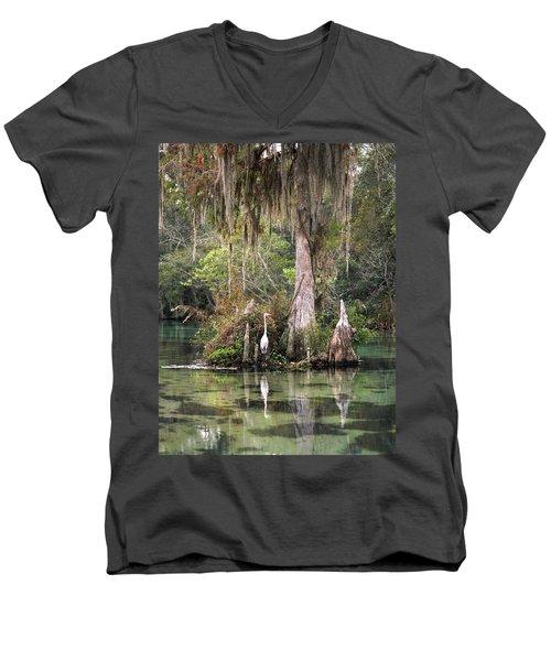 Weeki Wachee River Men's V-Neck T-Shirt