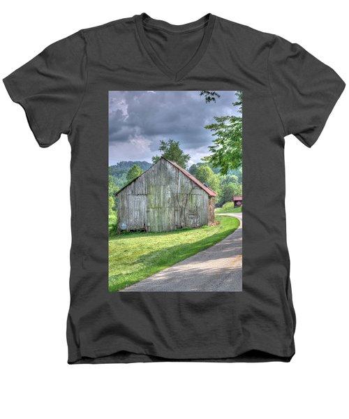 Wells Barn 13 Men's V-Neck T-Shirt