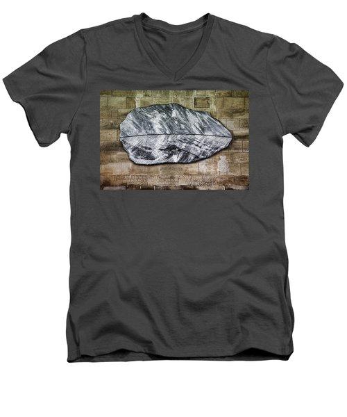 Westminster Military Memorial Men's V-Neck T-Shirt by Stephen Stookey