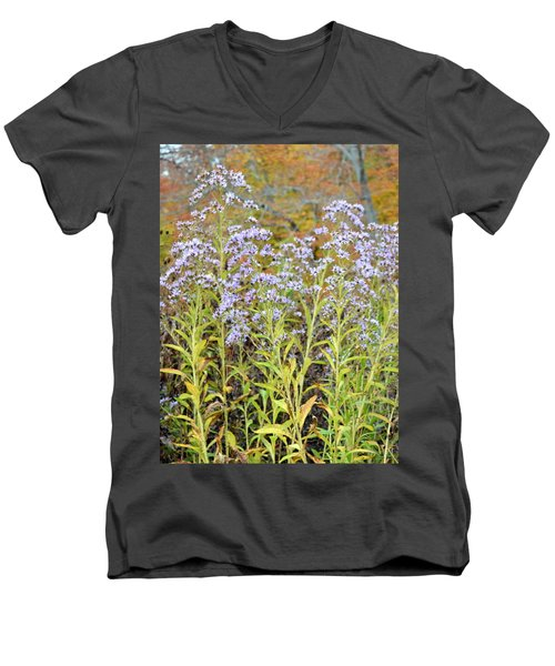 Men's V-Neck T-Shirt featuring the photograph Whimsy by Deborah  Crew-Johnson