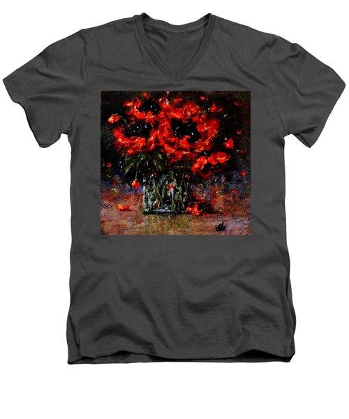 Whispers Of Love  Men's V-Neck T-Shirt