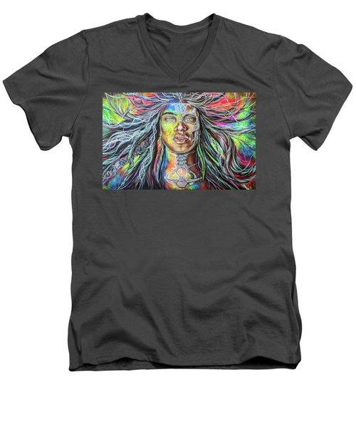 Wild Re-membering  Men's V-Neck T-Shirt