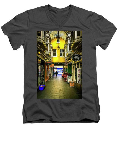 Windham Shopping Arcade Cardiff Men's V-Neck T-Shirt