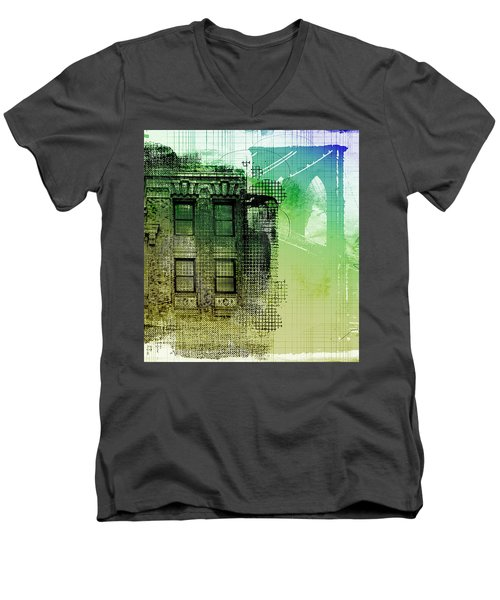 Window View Men's V-Neck T-Shirt