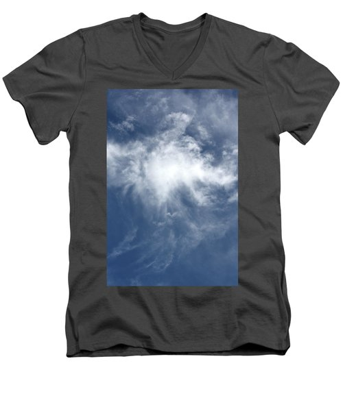 Wing And A Prayer Men's V-Neck T-Shirt by Cathie Douglas