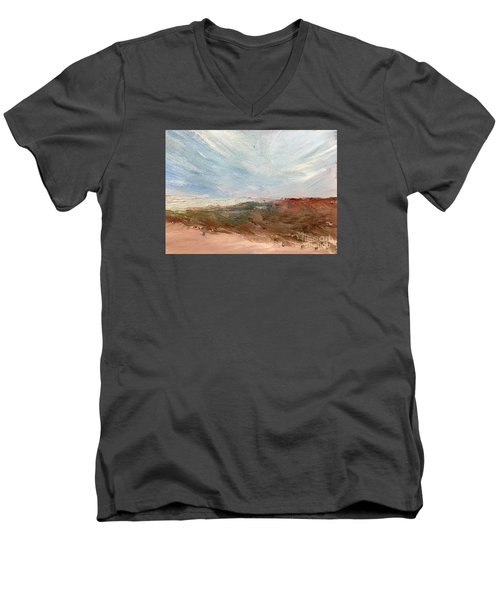 Witness Men's V-Neck T-Shirt by Trilby Cole