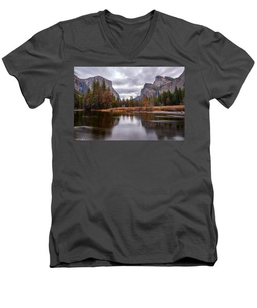 Yosemite Valley Men's V-Neck T-Shirt