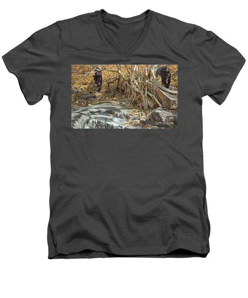 You Take The High Ridge Men's V-Neck T-Shirt