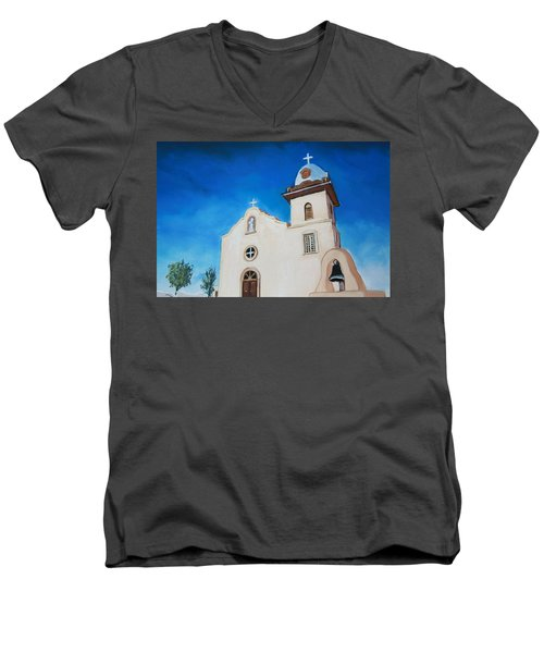 Ysleta Mission Men's V-Neck T-Shirt
