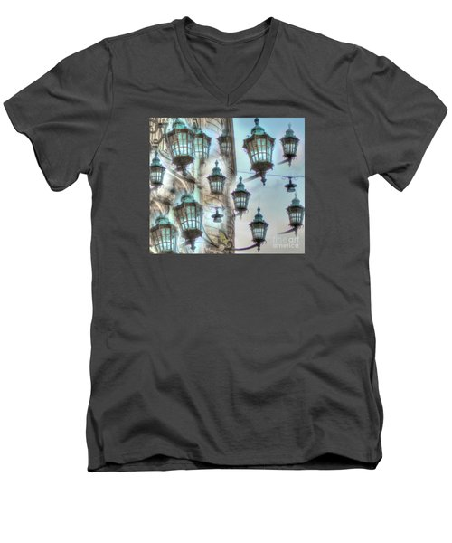 Yury Bashkin Light Men's V-Neck T-Shirt