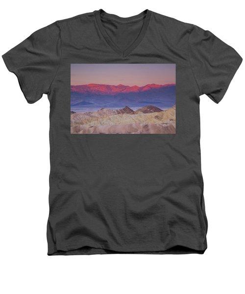 Zabriskie Sunrise Men's V-Neck T-Shirt