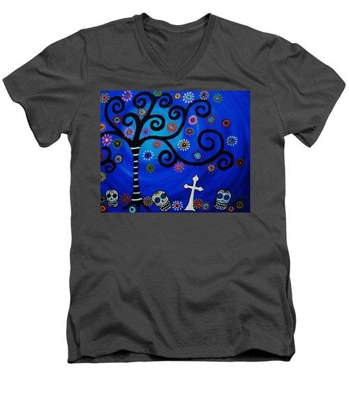Day Of The Dead Men's V-Neck T-Shirt