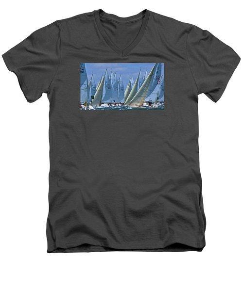 J105 Regatta Men's V-Neck T-Shirt