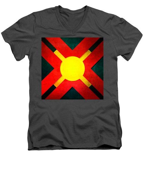 100b Men's V-Neck T-Shirt
