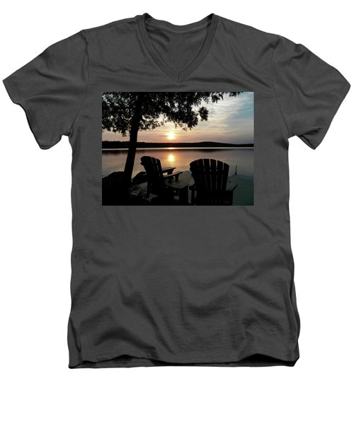 104_0550.jpg Men's V-Neck T-Shirt