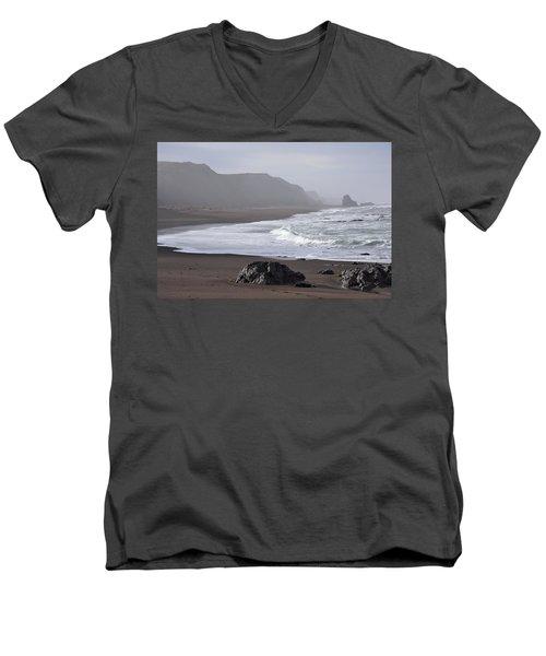 Irish Beach Men's V-Neck T-Shirt