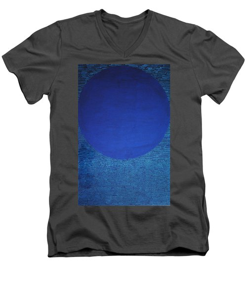 Perfect Existence Men's V-Neck T-Shirt by Kyung Hee Hogg