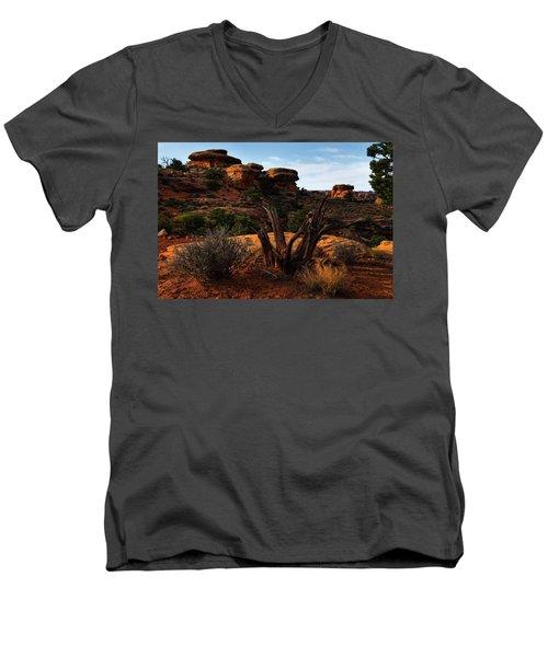 Canyonlands National Park Utah Men's V-Neck T-Shirt