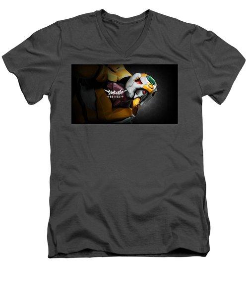 Neon Genesis Evangelion Men's V-Neck T-Shirt