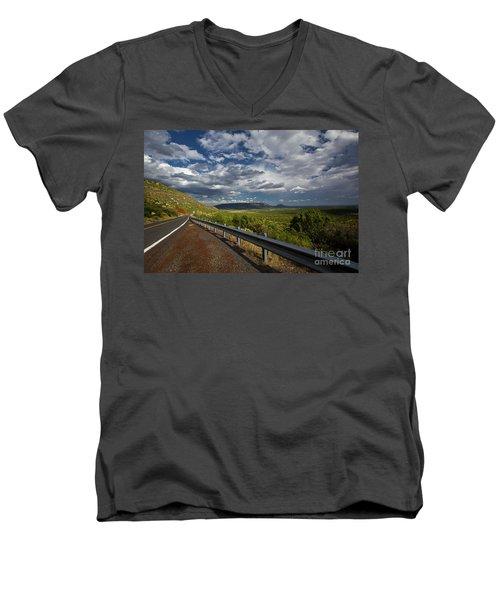 Texas 66 Men's V-Neck T-Shirt