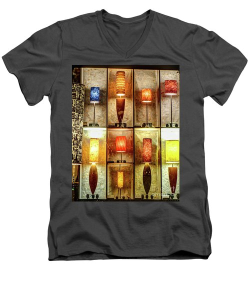 1221b Lincoln St. Men's V-Neck T-Shirt