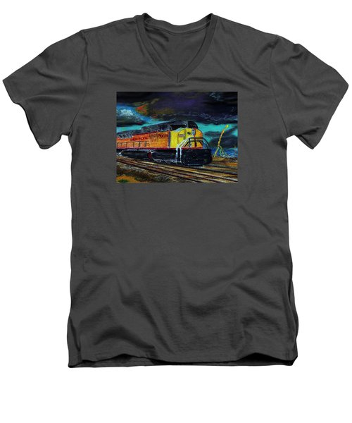122415 East Bound Men's V-Neck T-Shirt