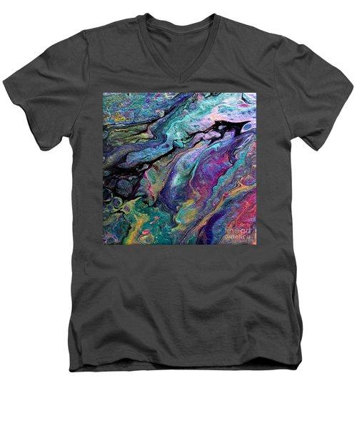 #1260 Men's V-Neck T-Shirt
