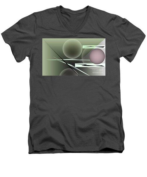 1296-2 2016 Men's V-Neck T-Shirt by John Krakora