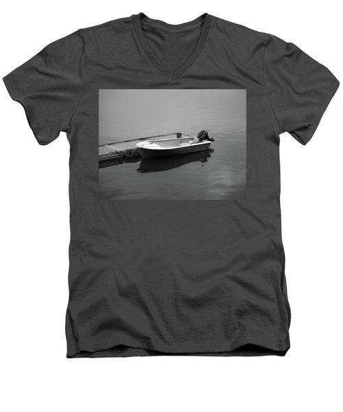 Down East Maine  Men's V-Neck T-Shirt by Trace Kittrell