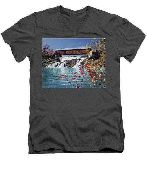 134202-a The Willard Men's V-Neck T-Shirt