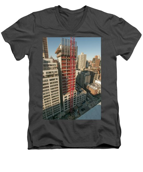1355 1st Ave 1 Men's V-Neck T-Shirt