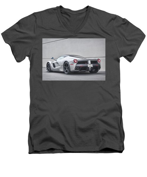 #ferrari #laferrari Men's V-Neck T-Shirt